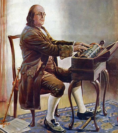 The Musical Side Of Ben Franklin
